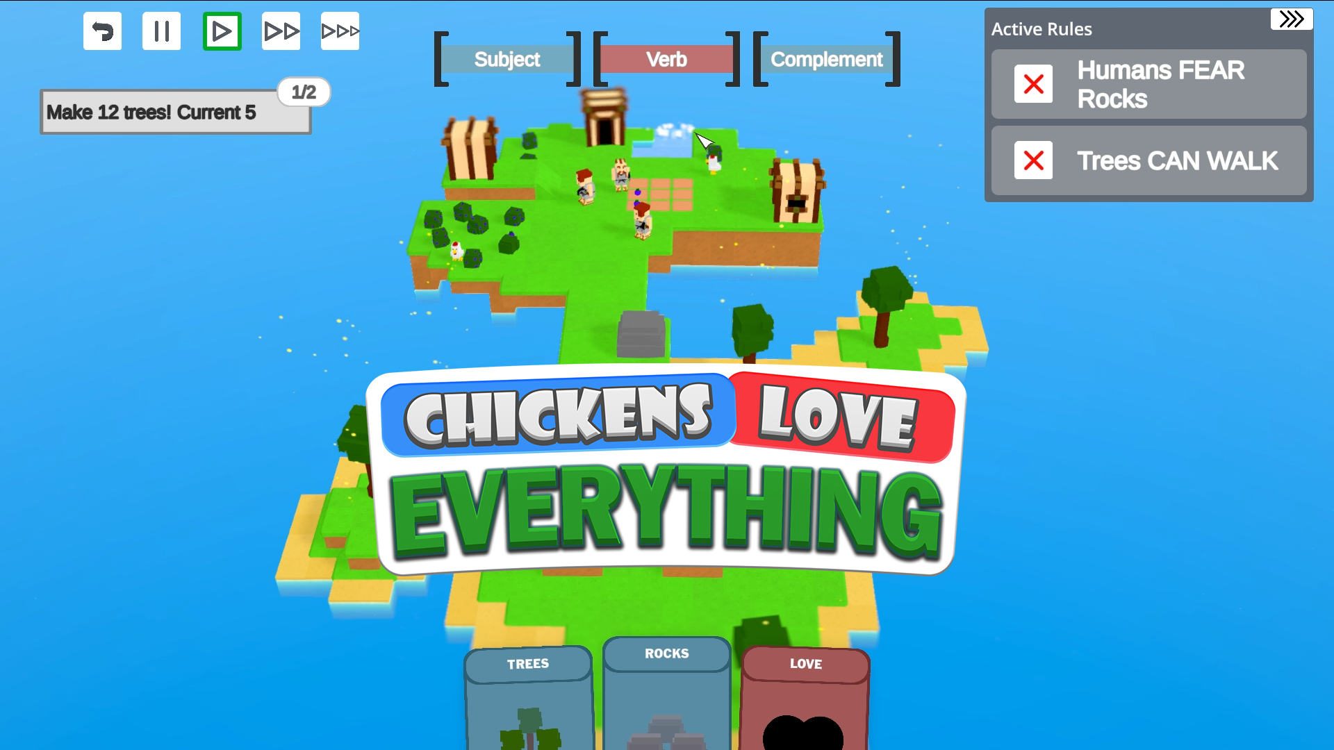 Chickens Love Everything